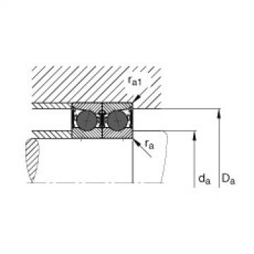 Spindle bearings - HCB71913-C-2RSD-T-P4S