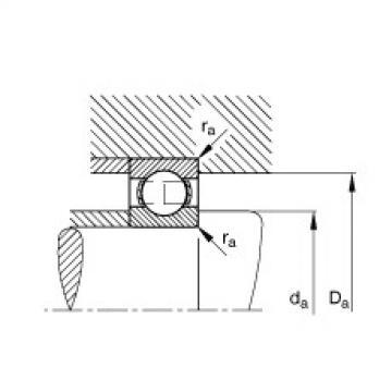 Deep groove ball bearings - 61884-M