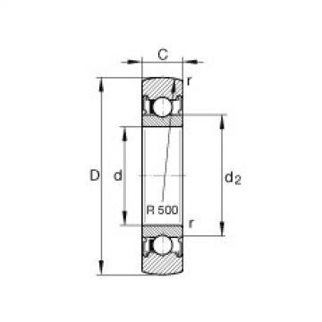Track rollers - LR606-2RSR