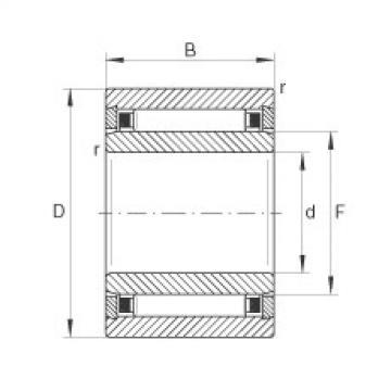 Needle roller bearings - NKI6/16-TV-XL