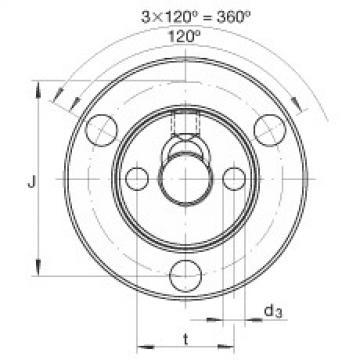 Axial conical thrust cage needle roller bearings - ZAXFM0635