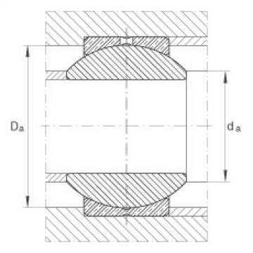 Radial spherical plain bearings - GE20-PB