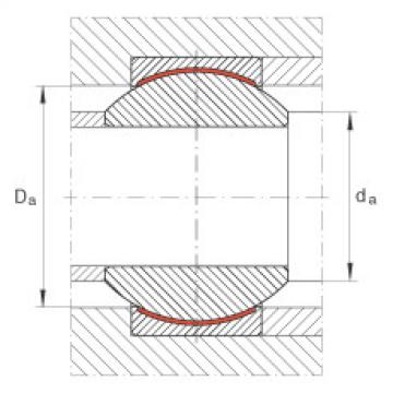 Radial spherical plain bearings - GE30-PW