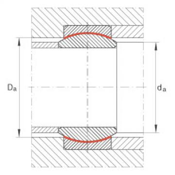 Radial spherical plain bearings - GE12-UK