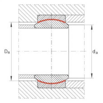 Radial spherical plain bearings - GE8-UK