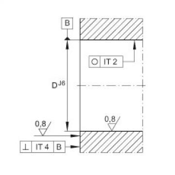 Angular contact ball bearing units - ZKLFA0640-2RS