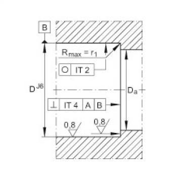Axial angular contact ball bearings - ZKLN50110-2RS-XL
