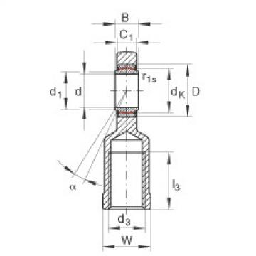 Rod ends - GIL80-UK-2RS