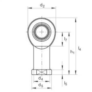 Rod ends - GIL45-UK-2RS