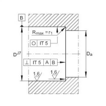 Axial angular contact ball bearings - ZKLN5090-2RS-PE