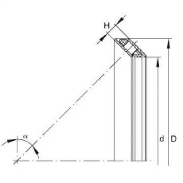 Axial angular contact roller bearings - AXS0816