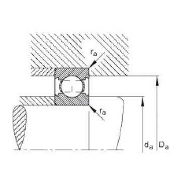 Deep groove ball bearings - 6203-C