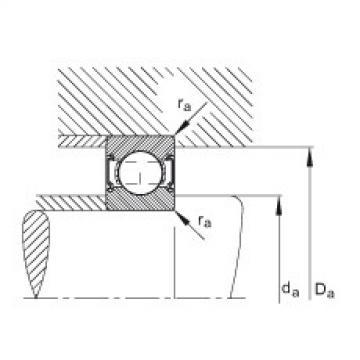 Deep groove ball bearings - 6203-C-2Z
