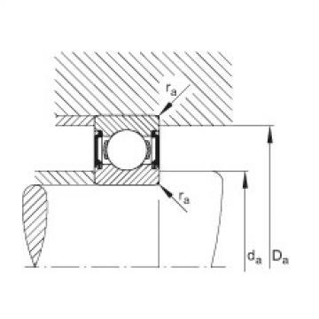 Deep groove ball bearings - 6303-C-2BRS