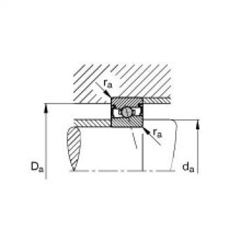 Spindle bearings - HCS71910-E-T-P4S