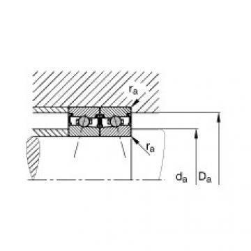 Spindle bearings - HCS71900-E-T-P4S