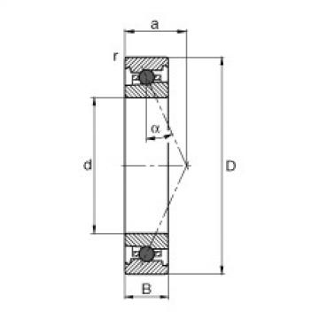Spindle bearings - HC71913-E-T-P4S