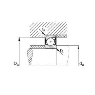 Spindle bearings - B7211-E-2RSD-T-P4S
