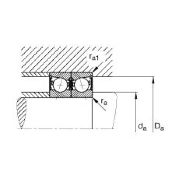 Spindle bearings - B7011-C-2RSD-T-P4S