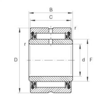 Needle roller bearings - NA4900-2RSR-XL