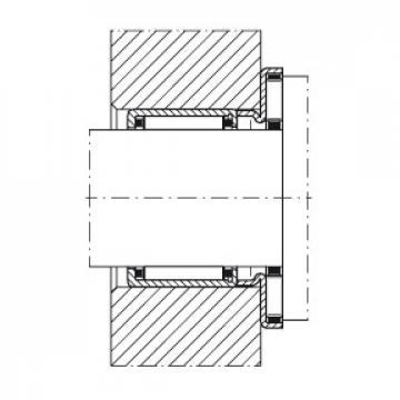 Axial needle roller bearings - AXW50