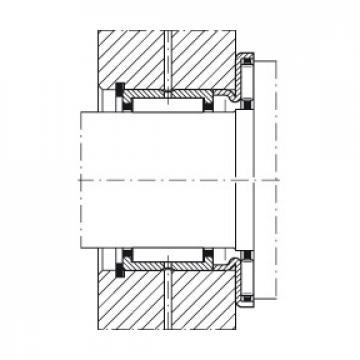 Axial needle roller bearings - AXW30