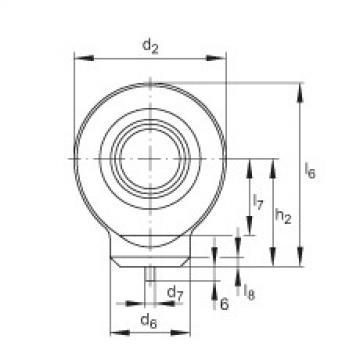 Hydraulic rod ends - GK15-DO