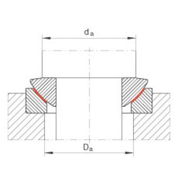 Axial spherical plain bearings - GE300-AW