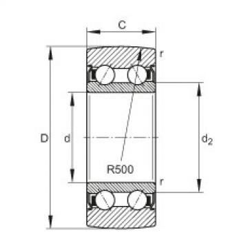 Track rollers - LR5203-2Z-TVH-XL