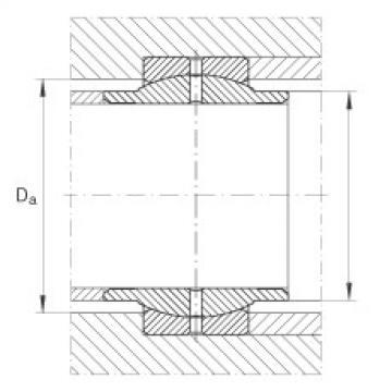 Radial spherical plain bearings - GE63-LO