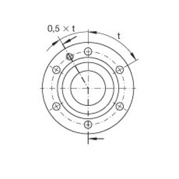 Axial angular contact ball bearings - ZKLF50115-2RS-XL