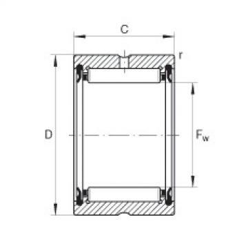 Needle roller bearings - RNA4910-2RSR-XL