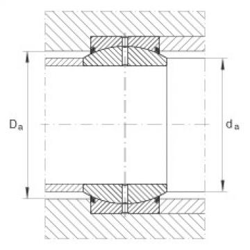 Radial spherical plain bearings - GE70-DO-2RS