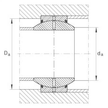 Radial spherical plain bearings - GE25-FO-2RS