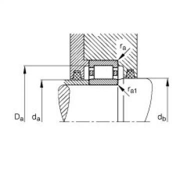 Cylindrical roller bearings - NU309-E-XL-TVP2