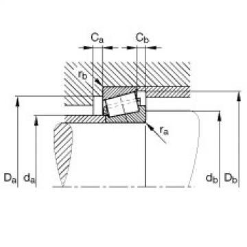 Tapered roller bearings - T2ED075