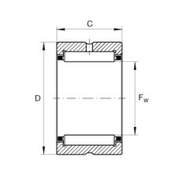 Needle roller bearings - NCS1616