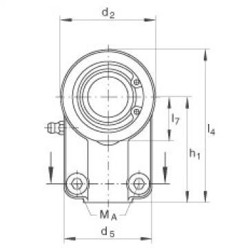 Hydraulic rod ends - GIHNRK50-LO