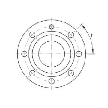 Axial angular contact ball bearings - ZKLF50115-2RS-2AP-XL