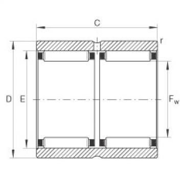 Needle roller bearings - RNAO18X30X24-ZW-ASR1-XL