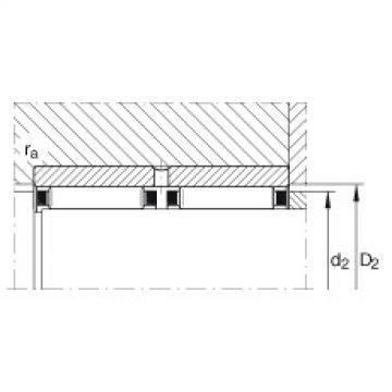 Needle roller bearings - RNAO50X65X40-ZW-ASR1-XL