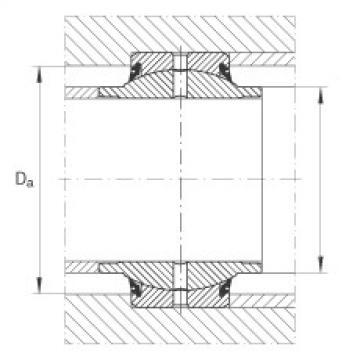 Radial spherical plain bearings - GE20-HO-2RS
