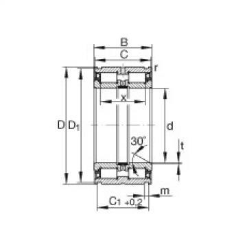 Cylindrical roller bearings - SL04180-PP