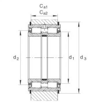 Cylindrical roller bearings - SL045005-PP