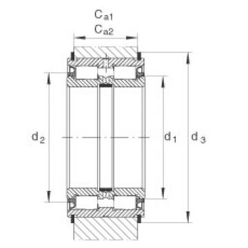 Cylindrical roller bearings - SL045012-PP