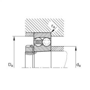 Self-aligning ball bearings - 1206-K-TVH-C3