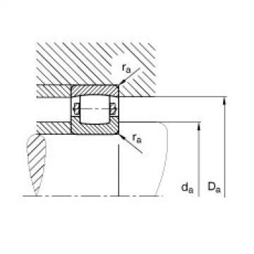 Barrel roller bearings - 20219-MB
