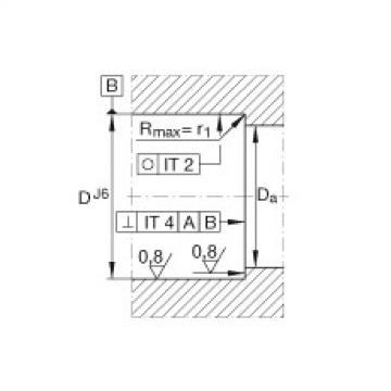 Axial angular contact ball bearings - BSB2047-2Z-SU