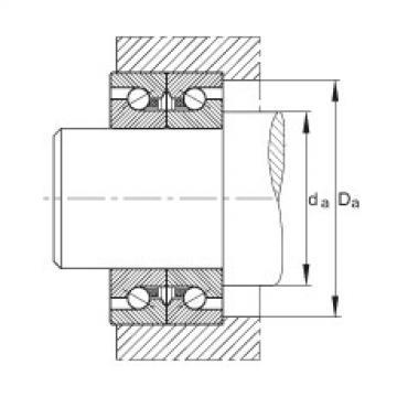 Axial angular contact ball bearings - BSB2047-SU