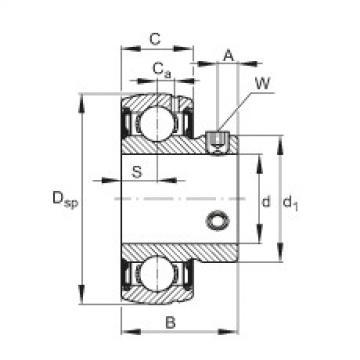 Radial insert ball bearings - SUB210